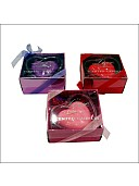 Glass 1 – Love theme Cup Candle Holder (Purple/Red/Pink)