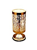 Decorative round shaped table lamp