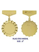 Medals (Flag star -3